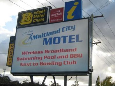 Maitland City Motel - Accommodation Batemans Bay