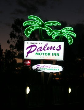 Chinchilla Palms Motor Inn - Accommodation Batemans Bay