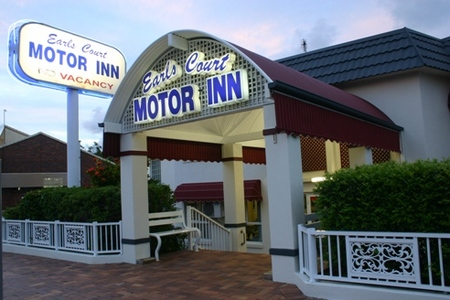 Earls Court Motor Inn - Accommodation Batemans Bay