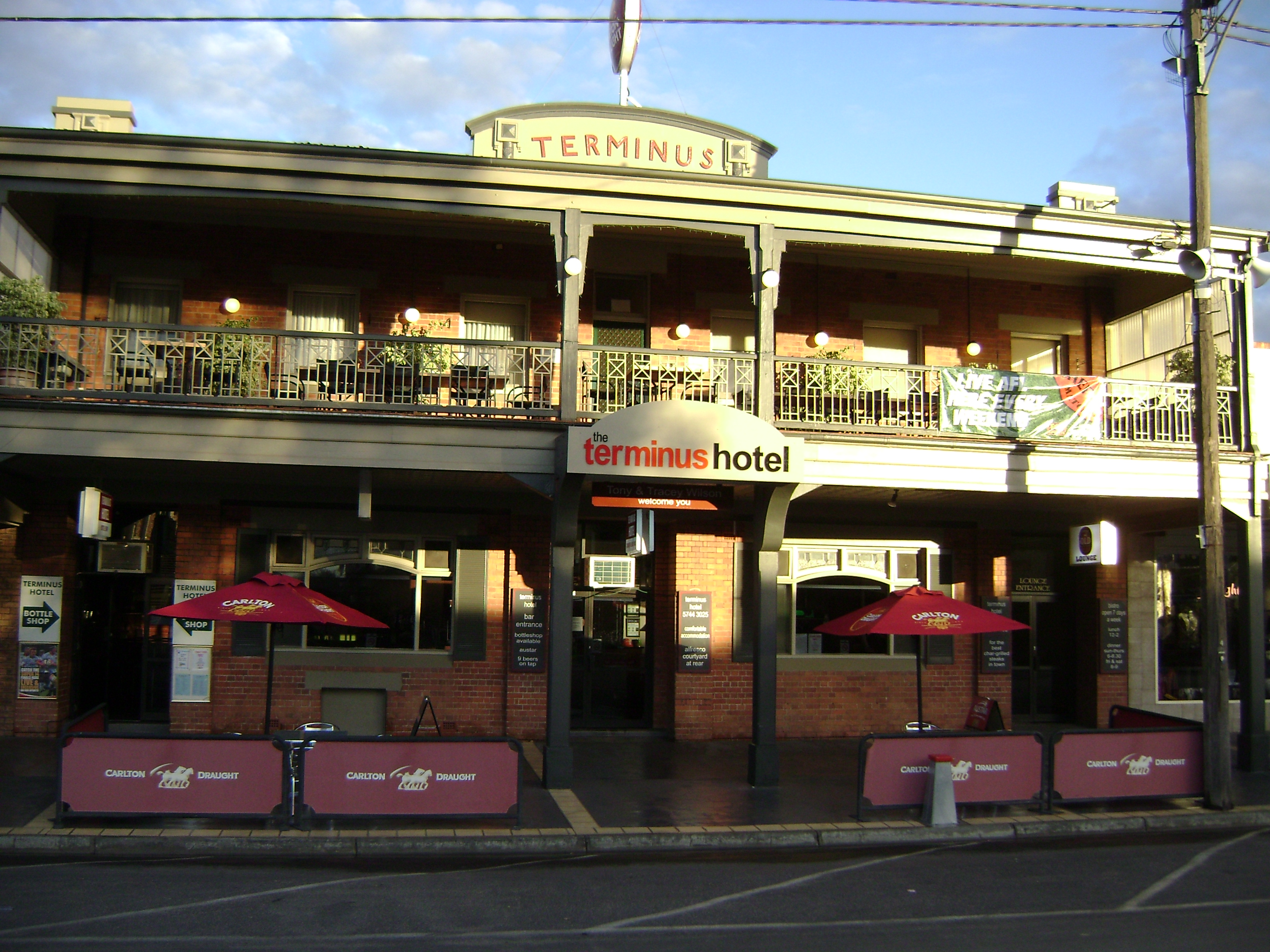 Terminus Hotel - Accommodation Batemans Bay