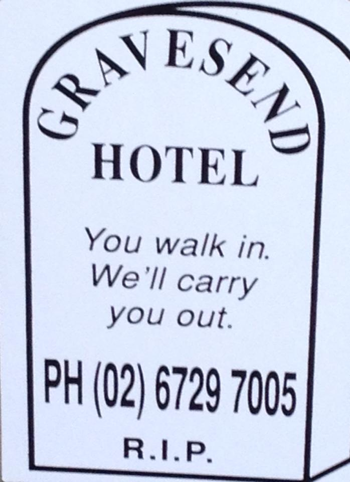 Gravesend Hotel - Accommodation Batemans Bay