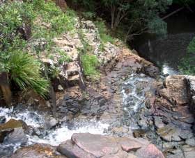 Gypsy Falls Waterfall   Retreat - Accommodation Batemans Bay