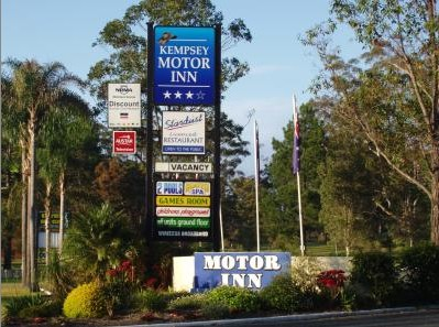 Kempsey Motor Inn - Accommodation Batemans Bay