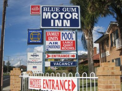 Blue Gum Motor Inn - Accommodation Batemans Bay