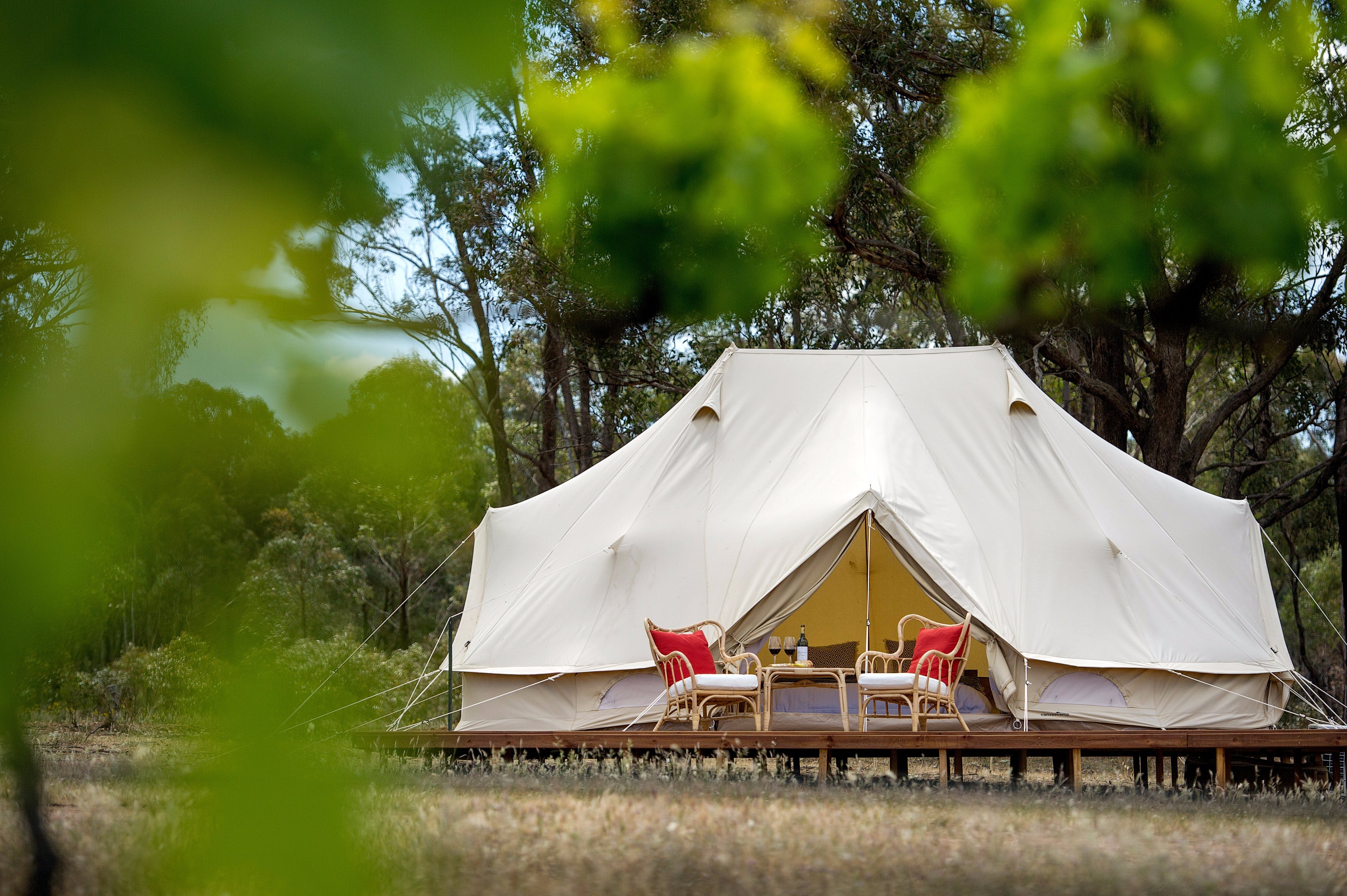 Balgownie Estate Winery Glamping  Accommodation - Accommodation Batemans Bay