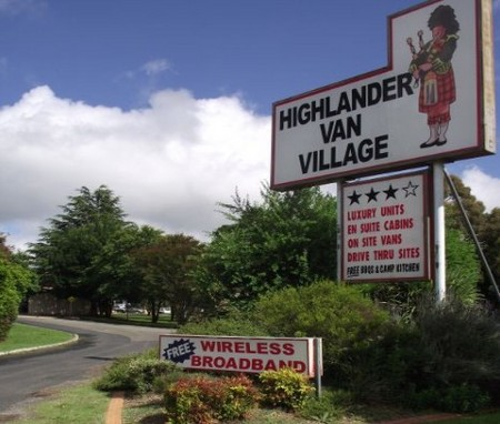 Highlander Van Village - Accommodation Batemans Bay