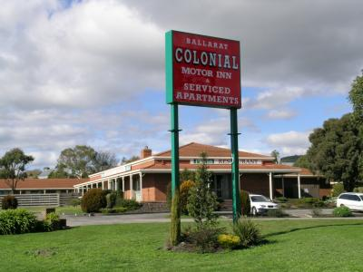 Ballarat Colonial Motor Inn - Accommodation Batemans Bay