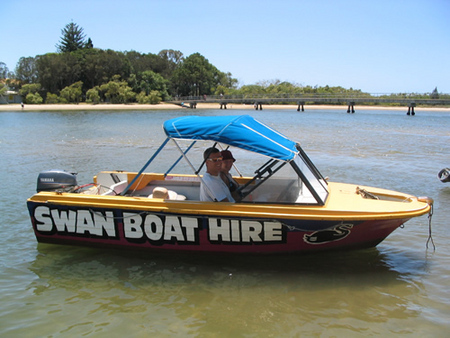Swan Boat Hire - Accommodation Batemans Bay
