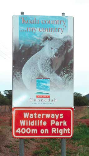 Waterways Wildlife Park - Accommodation Batemans Bay