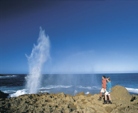 The Blowholes Carnarvon - Accommodation Batemans Bay