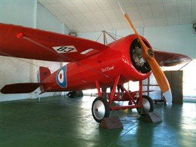 Captain Harry Butler Red Devil Monoplane Memorial - Accommodation Batemans Bay