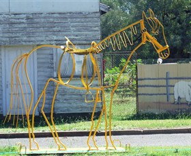 Augathella Wrought Iron Sculptures - Accommodation Batemans Bay