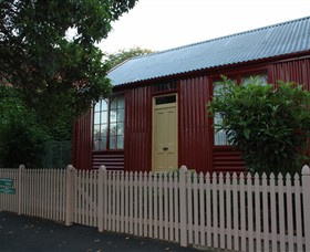19th Century Portable Iron Houses - Accommodation Batemans Bay