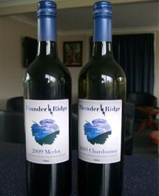 Thunder Ridge Wines - Accommodation Batemans Bay
