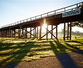 Historic Bridges of Gundagai - Accommodation Batemans Bay