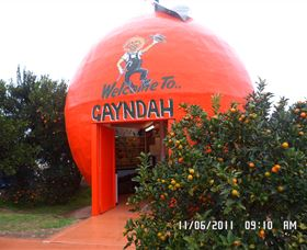 Gayndahs Big Orange - Accommodation Batemans Bay
