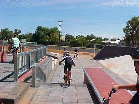 Charleville - Skate Park - Accommodation Batemans Bay