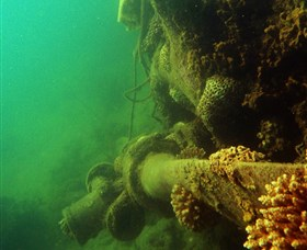 Wreck Diving at Magnetic Island
