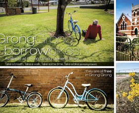 Grong Grong Borrow Bikes - Accommodation Batemans Bay
