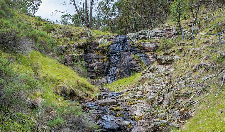 Hopetoun Falls walking track - Accommodation Batemans Bay