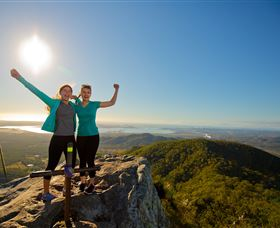 Mount Larcom Climb - Accommodation Batemans Bay