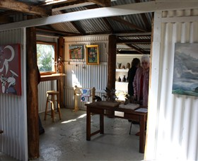 Tin Shed Gallery - Accommodation Batemans Bay
