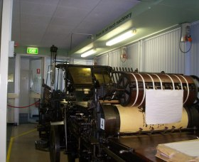 Queanbeyan Printing Museum - Accommodation Batemans Bay