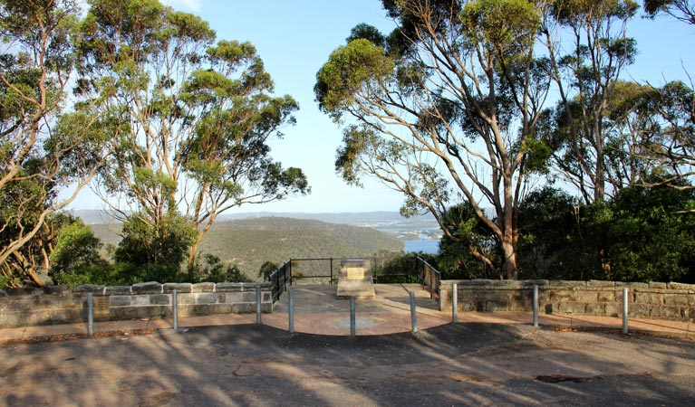 Staples lookout - Accommodation Batemans Bay