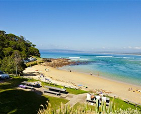Merimbula Bar Beach - Accommodation Batemans Bay