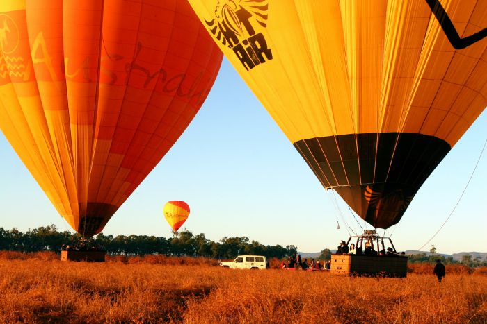 Hot Air Balloon Scenic Rim - Accommodation Batemans Bay