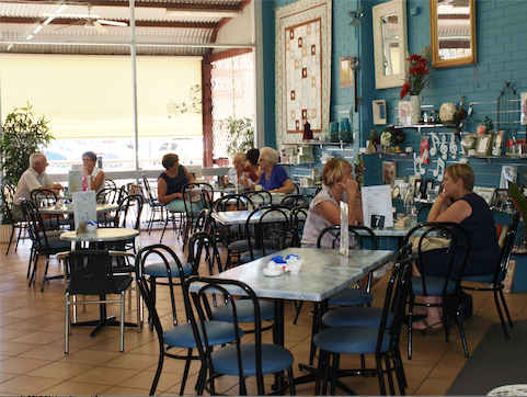 Inspirations Cafe Gift and Patchwork Gallery - Accommodation Batemans Bay