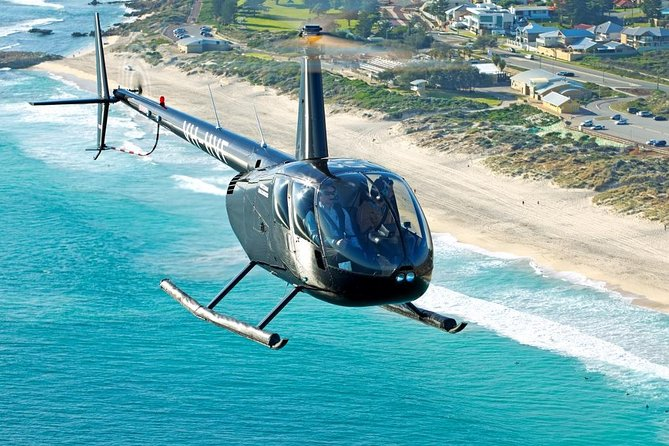 Perth Beaches Helicopter Tour from Hillarys Boat Harbour - Accommodation Batemans Bay
