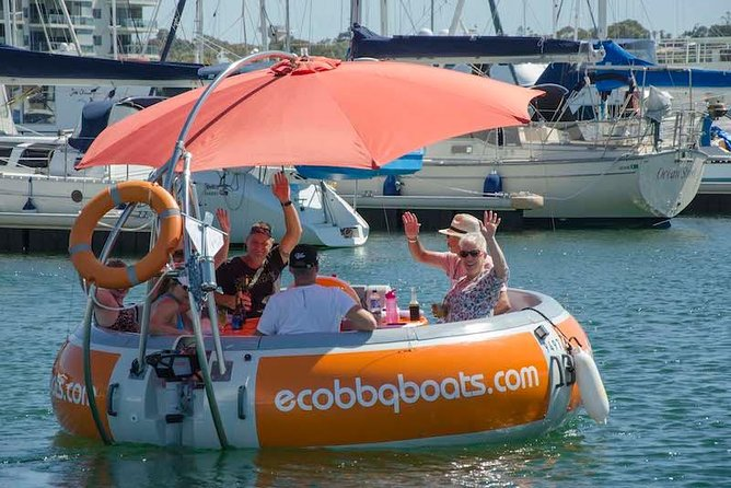 Self-Drive BBQ Boat Hire Mandurah - Group of 7 - 10 people - Accommodation Batemans Bay