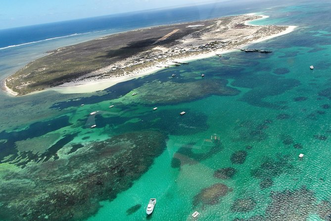 Abrolhos Flyover with Morning Tea on East Wallaby Island