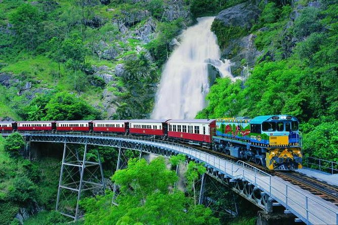 Full-Day Tour with Kuranda Scenic Railway Skyrail Rainforest Cableway and Hartley's Crocodile Adventures from Cairns - Accommodation Batemans Bay