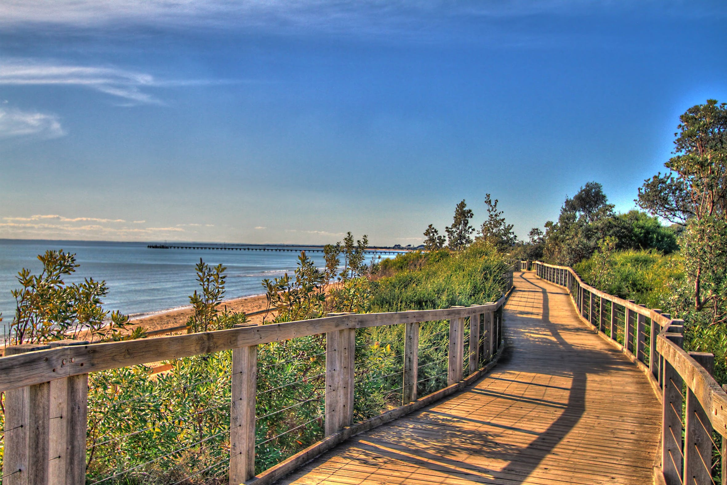 Frankston Foreshore and Pier Walk - Accommodation Batemans Bay
