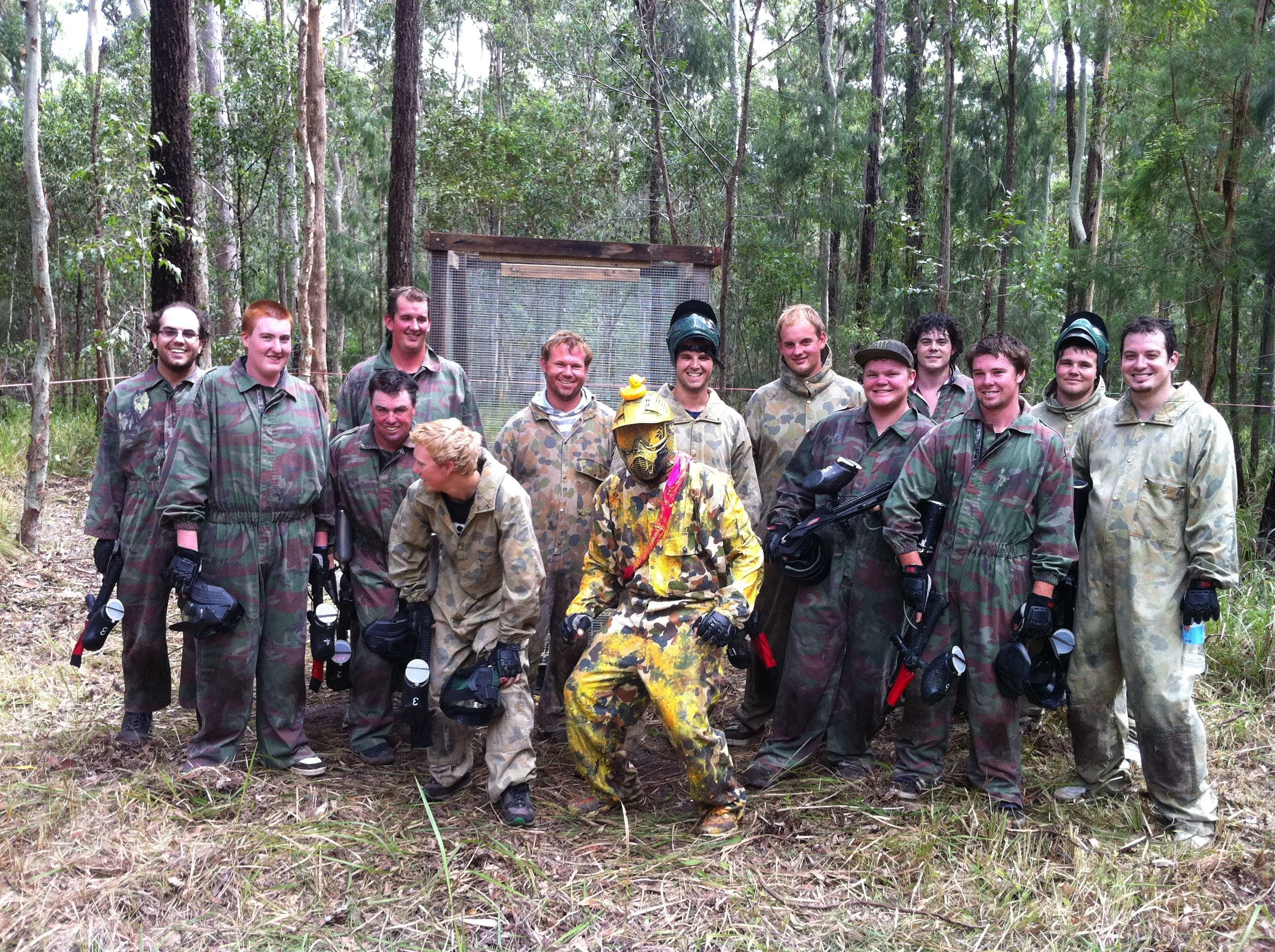 Mid North Coast Paintball - Accommodation Batemans Bay