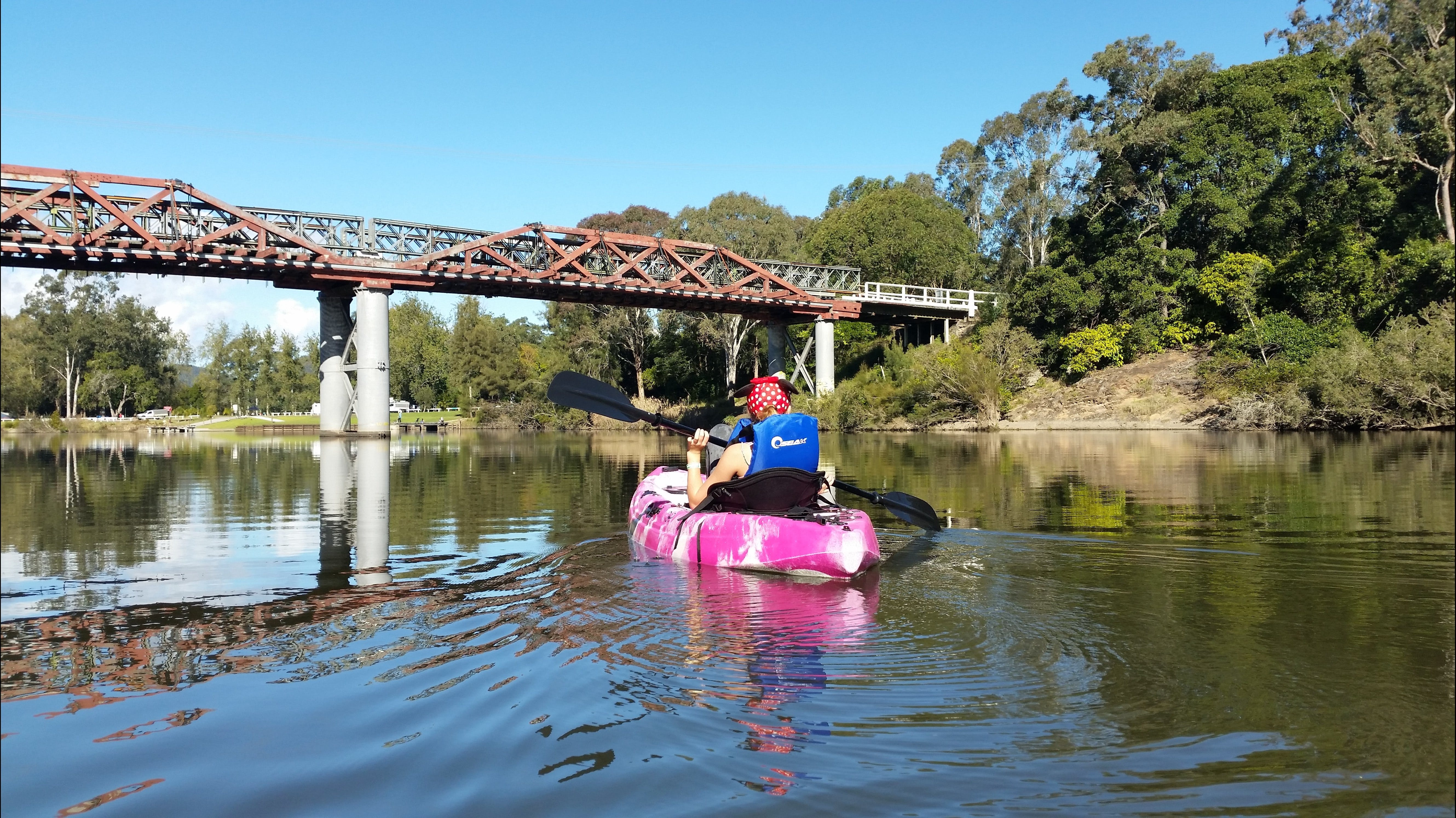 Canoeing at Clarence Town - Accommodation Batemans Bay