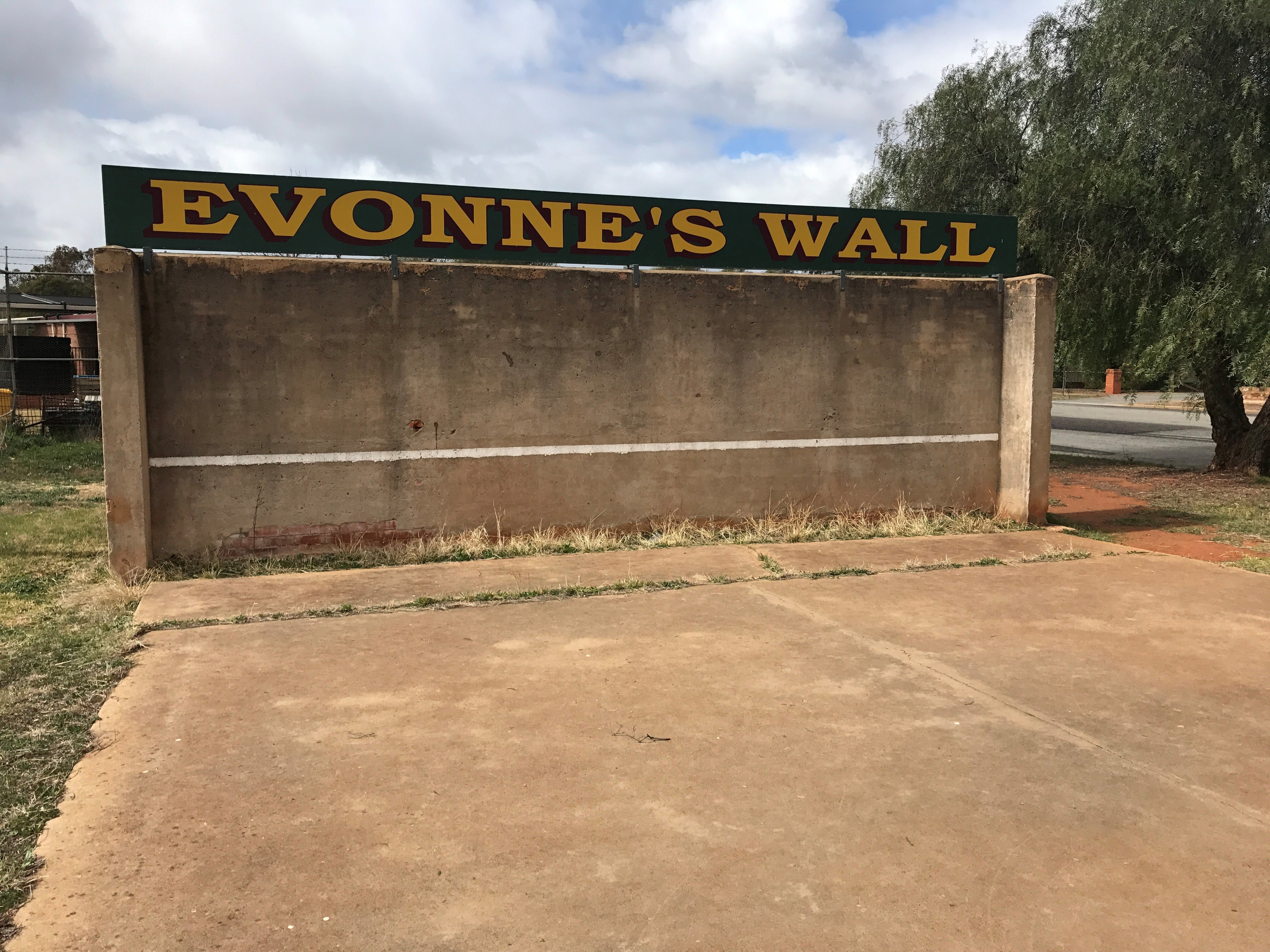 Evonne Goolagong-Cawley Wall - Accommodation Batemans Bay