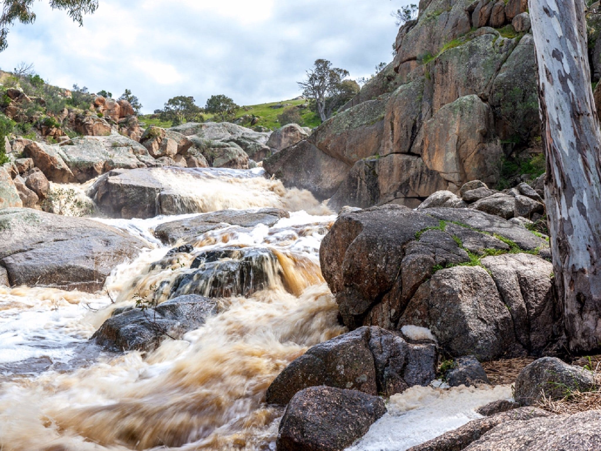 Mannum Waterfalls - Accommodation Batemans Bay