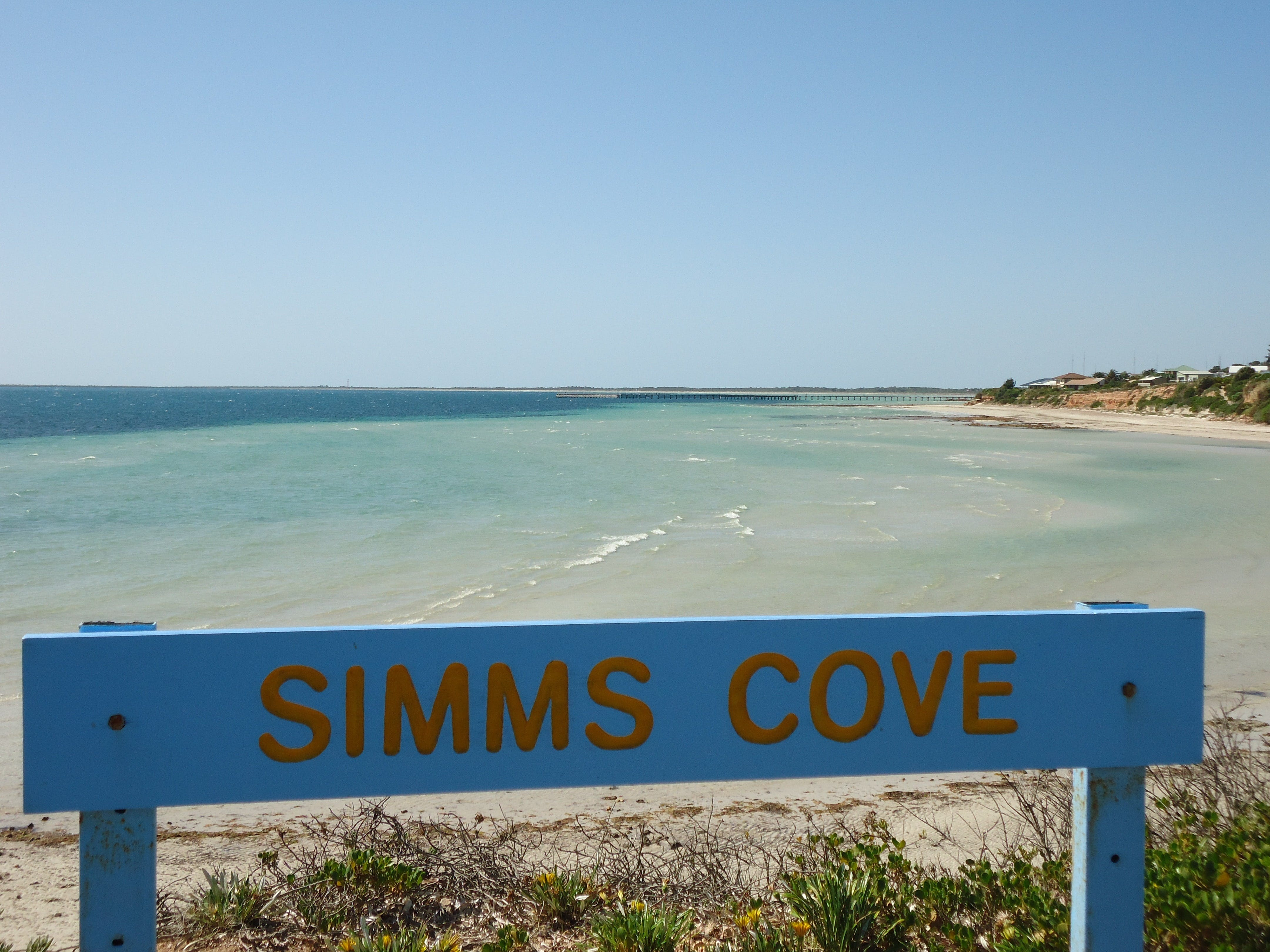 Simms Cove lookout and beach Moonta Bay - Accommodation Batemans Bay