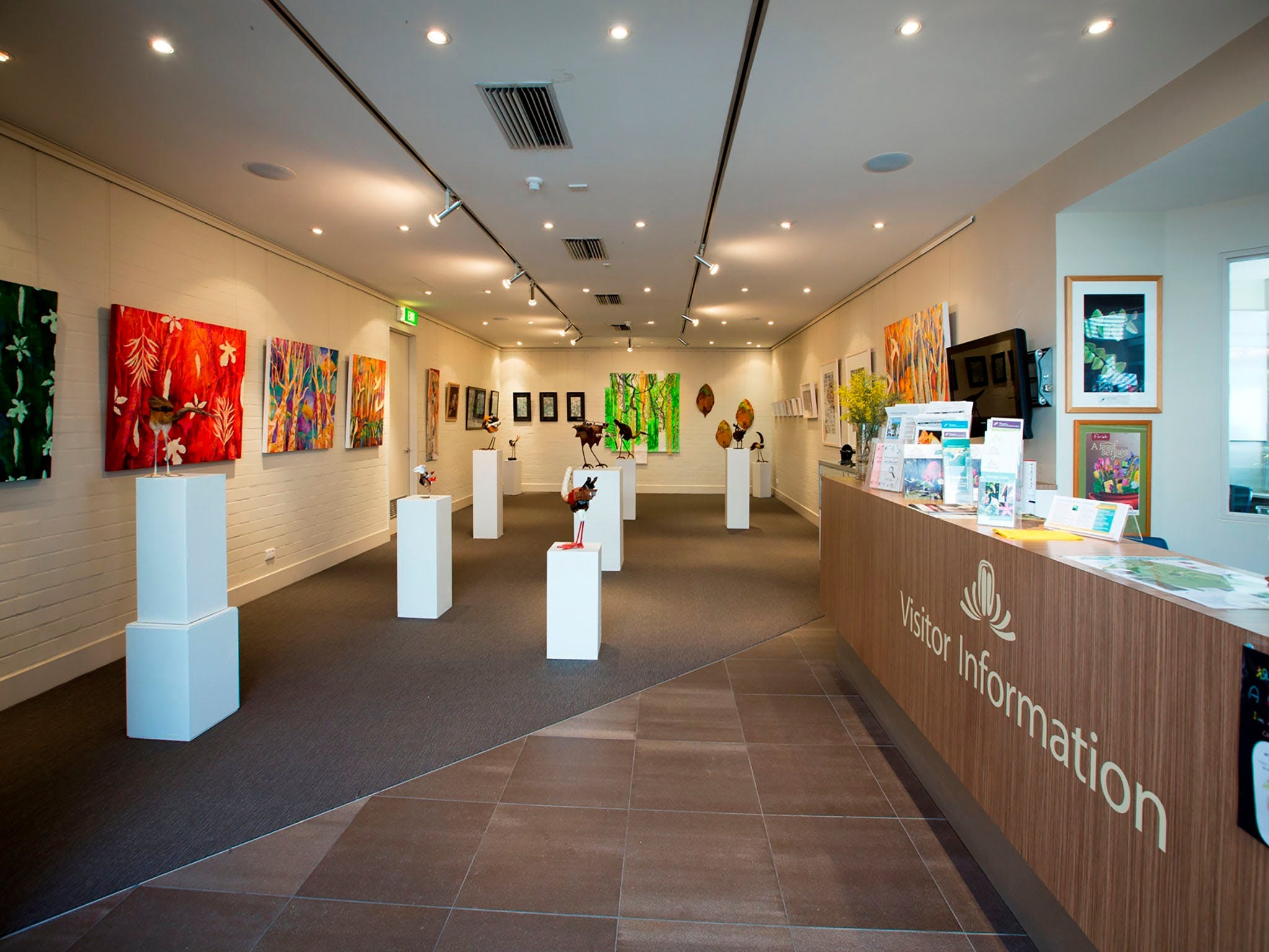 Australian National Botanic Gardens Visitor Centre Gallery - Accommodation Batemans Bay