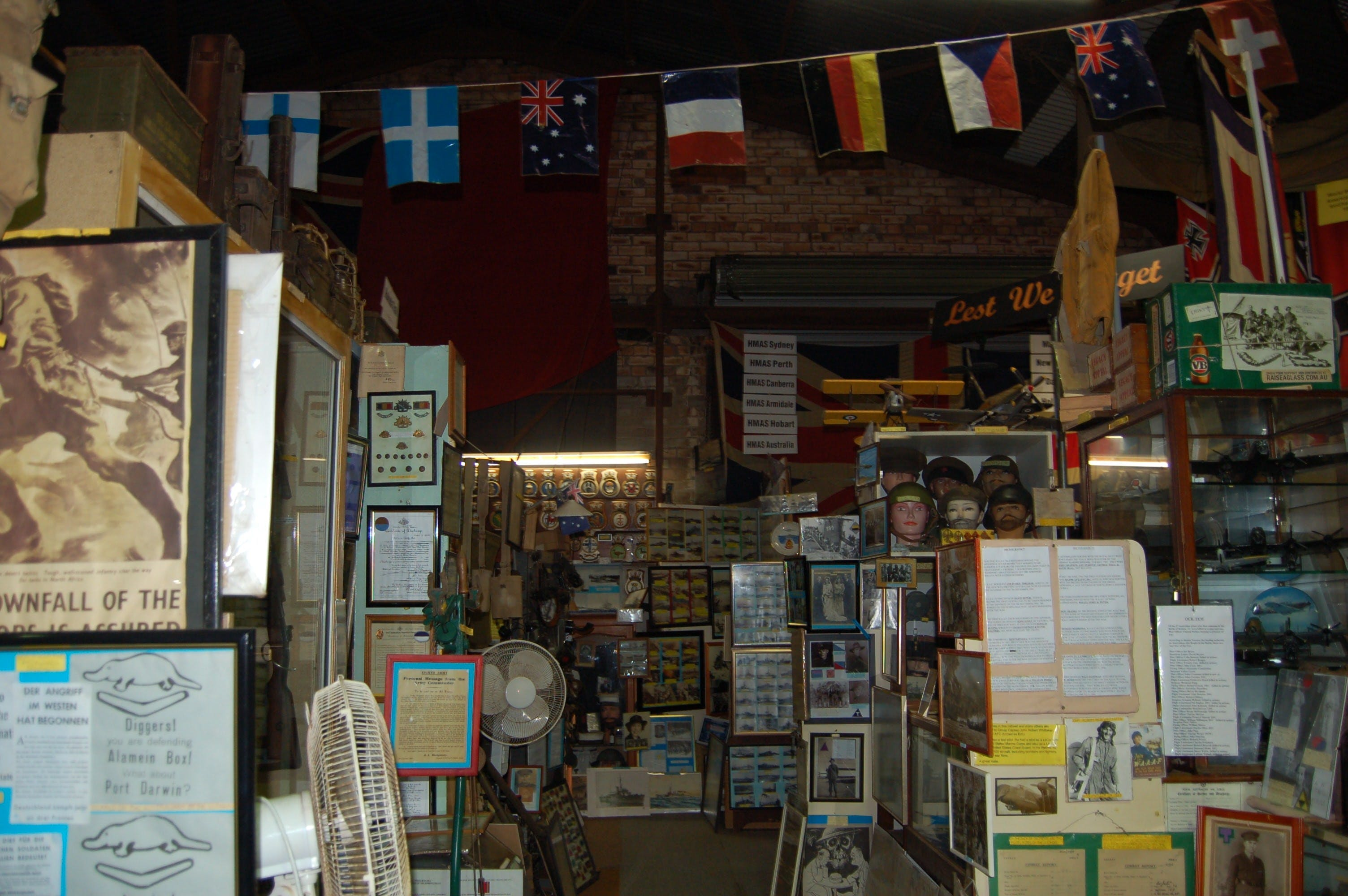 Military and Memorabilia Museum - Accommodation Batemans Bay