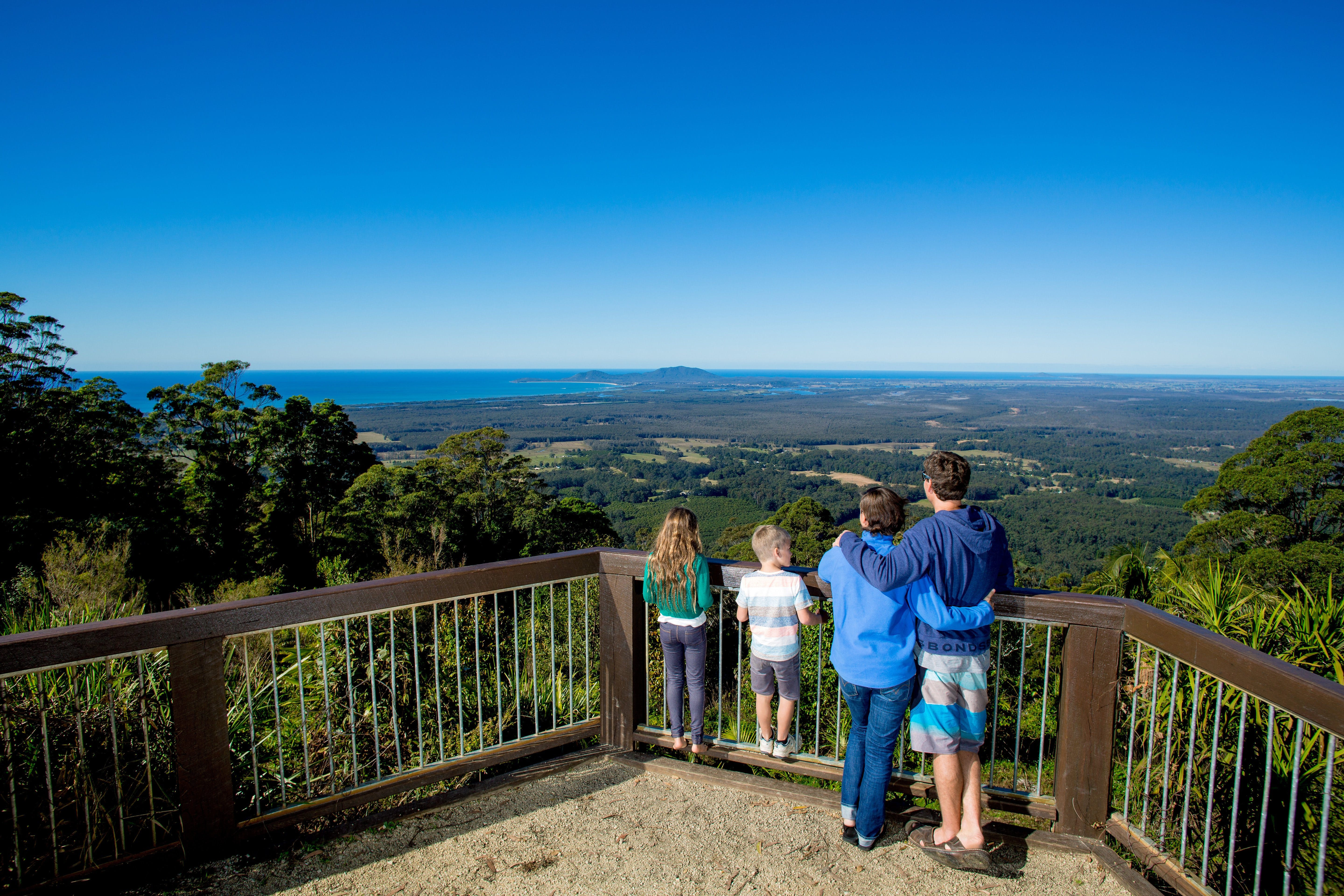 Mount Yarrahapinni Lookout - Accommodation Batemans Bay