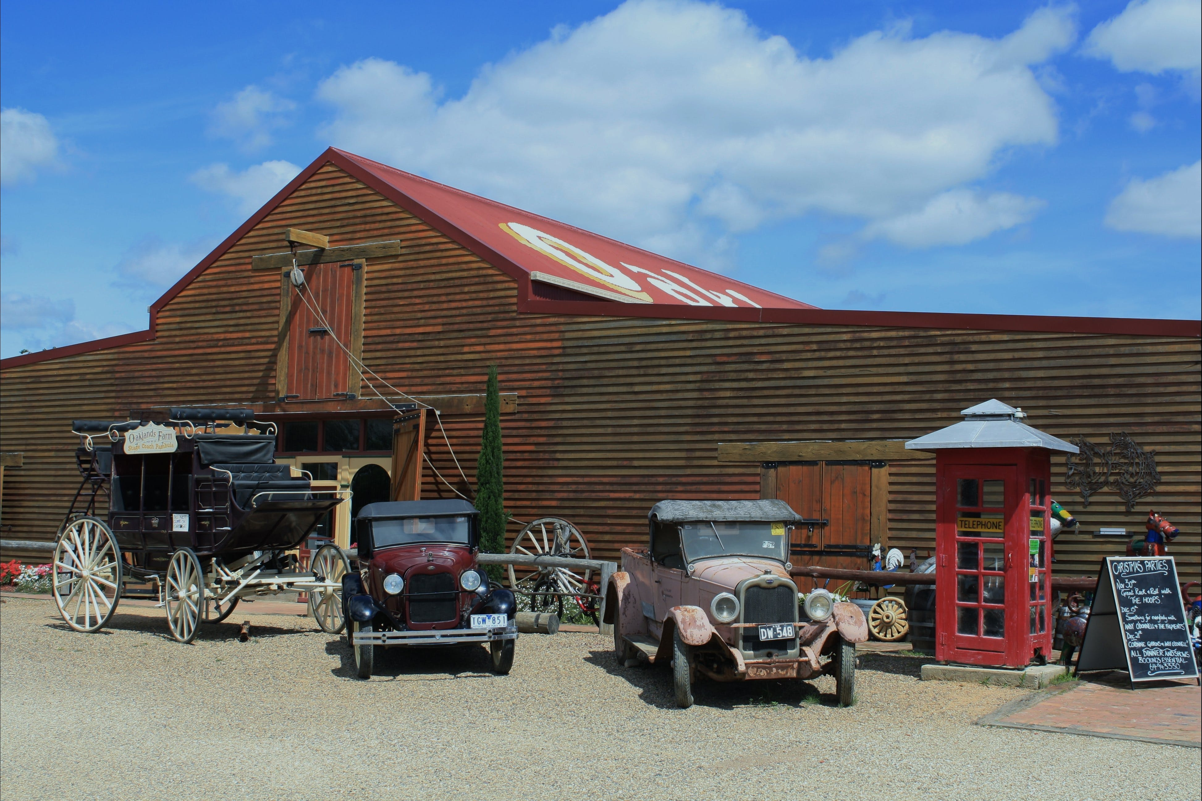 Oaklands Barn - Accommodation Batemans Bay