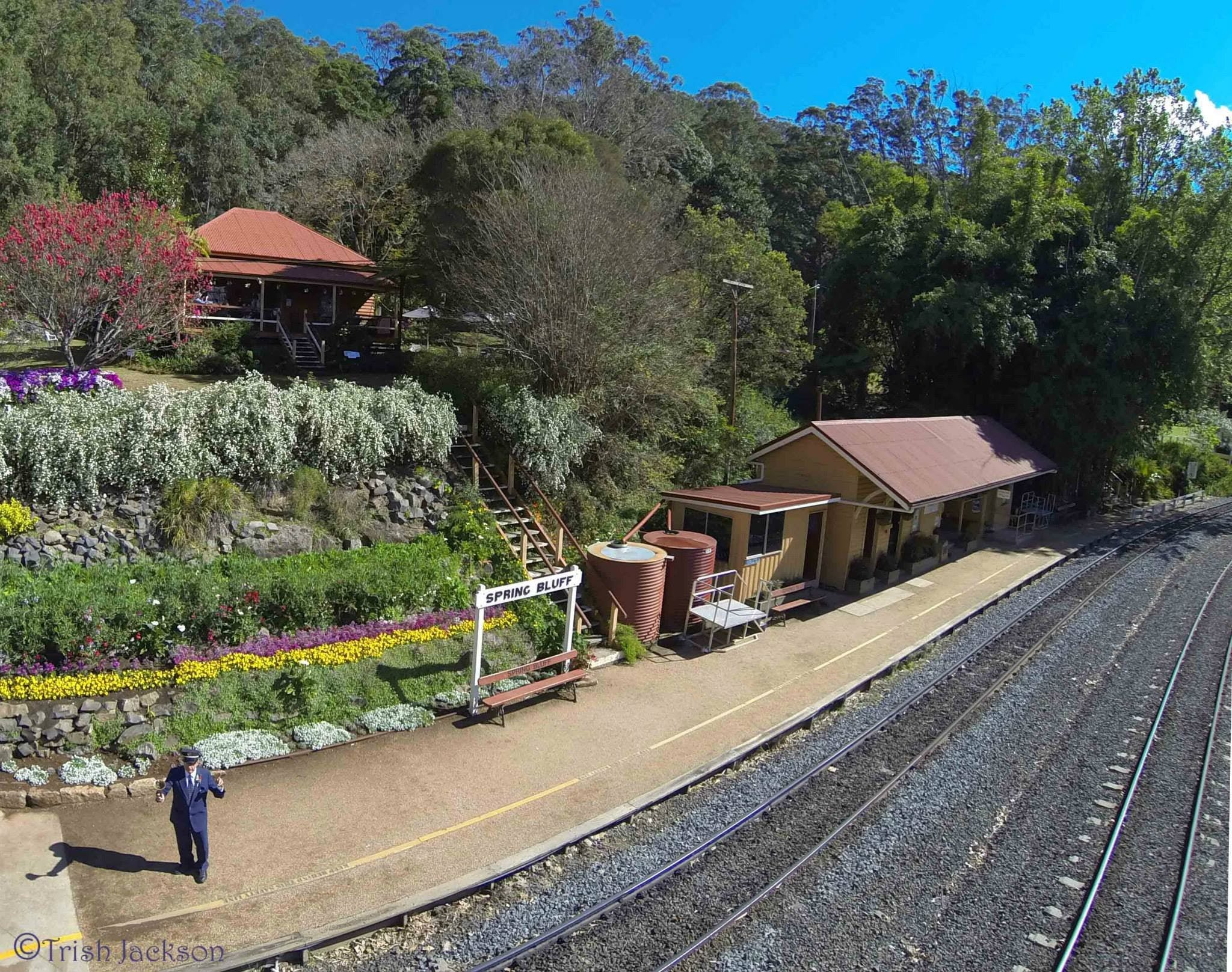 Spring Bluff Railway Station - Accommodation Batemans Bay
