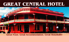 Great Central Hotel - Accommodation Batemans Bay