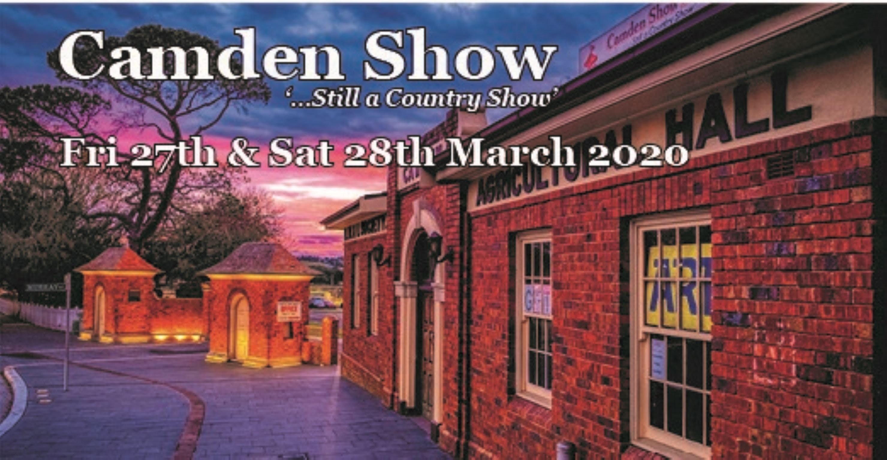 Camden Show - Accommodation Batemans Bay