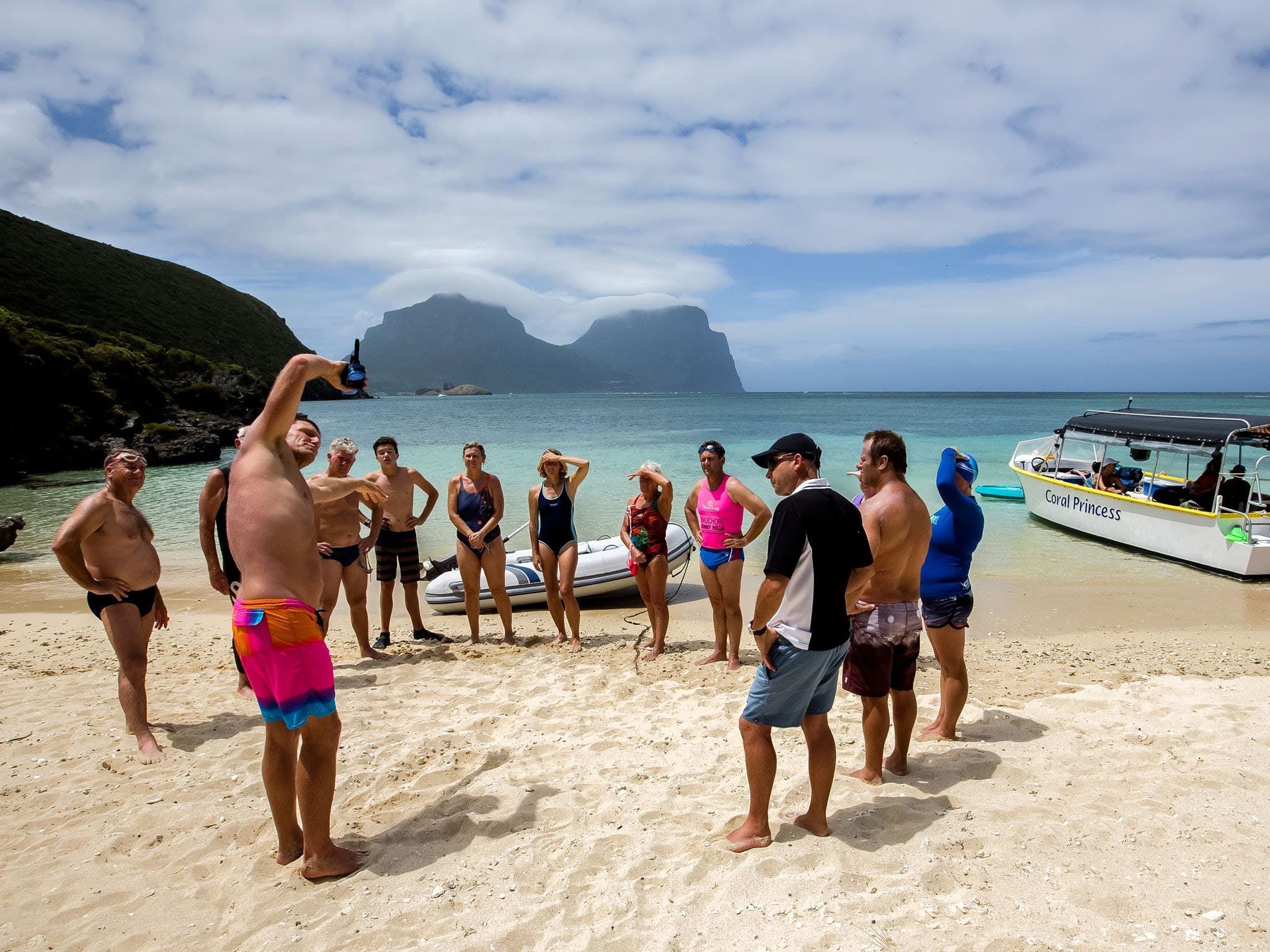 Ocean Swim Week with Trevor Hendy Pinetrees Lord Howe Island - Accommodation Batemans Bay