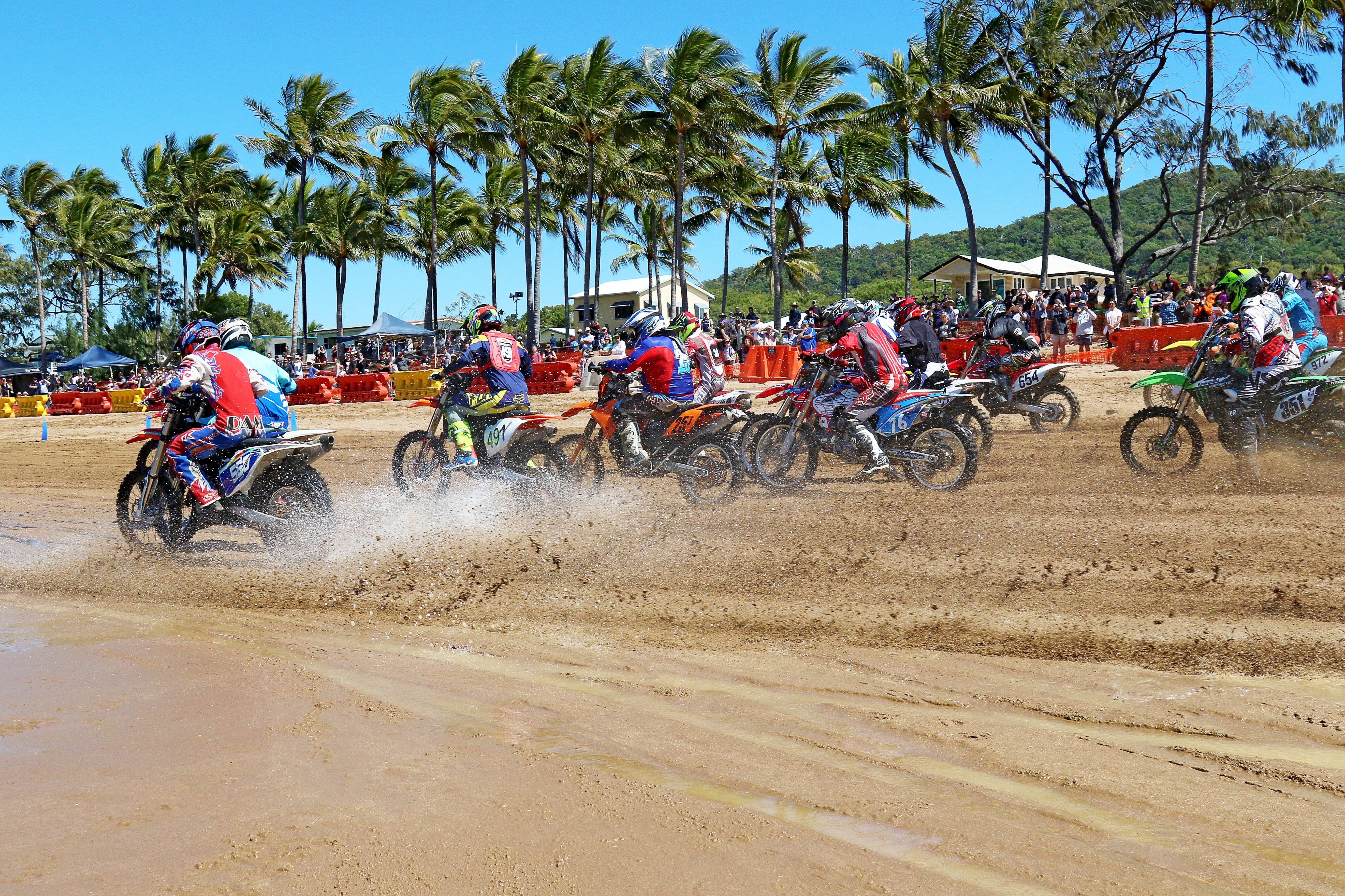 Beach Motorcycle Races - Accommodation Batemans Bay